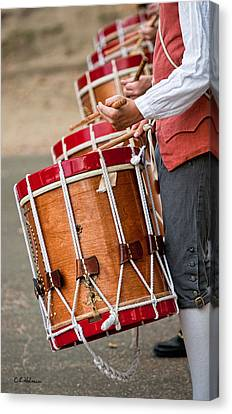 Drums Of The Revolution Canvas Print by Christopher Holmes