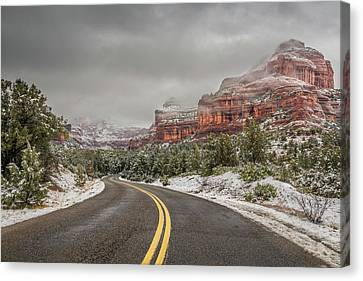 Boynton Canyon Road Canvas Print by Racheal Christian