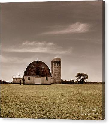 Old Barns Canvas Print - Dry Earth Crumbles Between My Fingers And I Look To The Sky For Rain by Dana DiPasquale