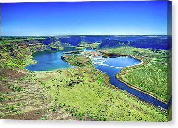 Dry Falls Washington Canvas Print
