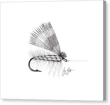 Dry Fly Canvas Print