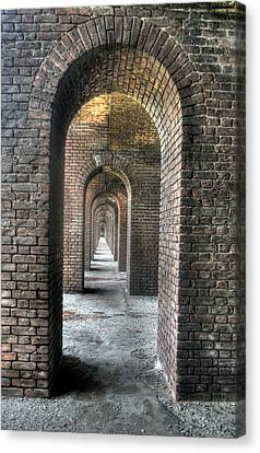 Dry Tortugas - Fort Jefferson - Doorways Canvas Print