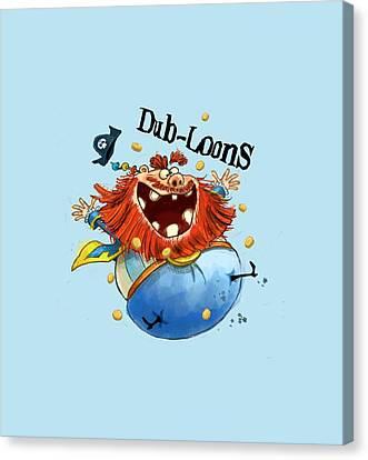 Dub-loons Canvas Print