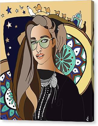 Dubai Tale Canvas Print