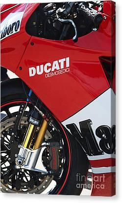 Ducati Desmosedici Canvas Print by Tim Gainey