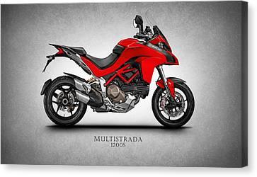 Ducati Multistrada Canvas Print