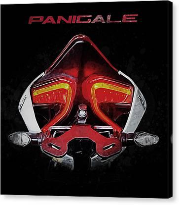 Cruiser Canvas Print - Ducati Panigale by Yurdaer Bes