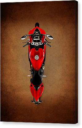 Ducati The Art Of The Motorcycle Canvas Print by Mark Rogan