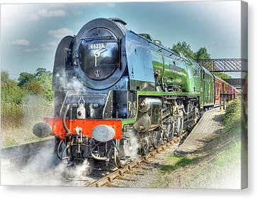 Duchess At Butterley Station Canvas Print by David Birchall