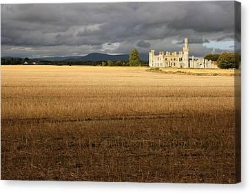 Ducketts Grove Castle Canvas Print