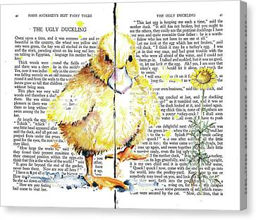 Duckling Fairy Tale Canvas Print