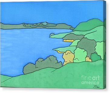 Duder Regional Park Nz Canvas Print by Joanne Oram