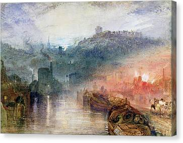 Dudley Worcester Canvas Print by Joseph Mallord William Turner