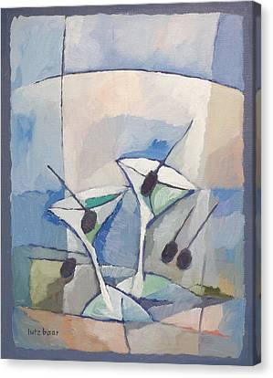 Due Martini Canvas Print