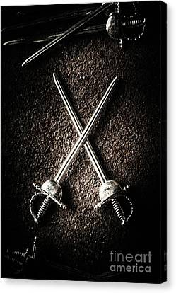 Duel To The Death Canvas Print by Jorgo Photography - Wall Art Gallery