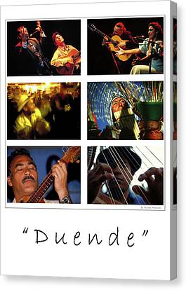 Duende - Feeling Canvas Print by Michael Mogensen