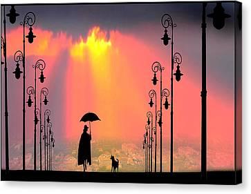 Duet Canvas Print by Igor Zenin