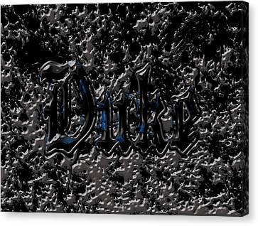 Duke Blue Devils 1c Canvas Print