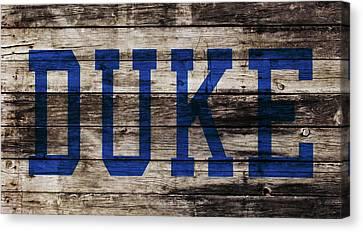 Duke Blue Devils 5a Canvas Print