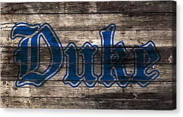 Duke Blue Devils 5d Canvas Print by Brian Reaves