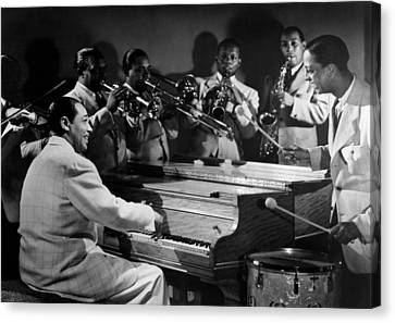 Duke Ellington And His Famous Orchestra Canvas Print by Everett