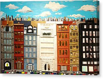 Duke Ellington Boulevard Canvas Print