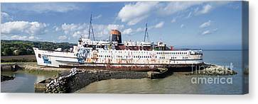 Duke Of Lancaster 3 Pano Canvas Print by Steev Stamford