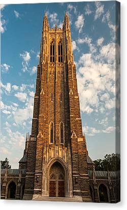Duke University Chapel Canvas Print
