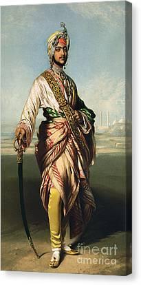 Duleep Singh, Maharajah Of Lahore Canvas Print by Franz Xaver Winterhalter