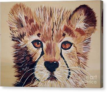Canvas Print featuring the painting Duma by Phyllis Kaltenbach