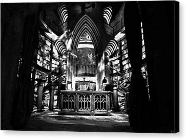 Dumbledores Study Canvas Print by David Lee Thompson