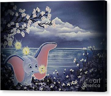 Dumbo Canvas Print by Dianna Lewis