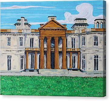 Dundrun Castle, Hamilton Ontario Canvas Print by Bridget Brummel