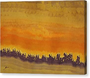 Dune Forest Original Painting Canvas Print