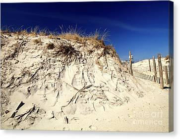 Canvas Print featuring the photograph Dune Heights by John Rizzuto