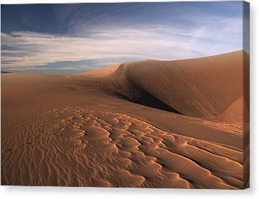 Canvas Print featuring the photograph Dune Pleasures by Al Swasey