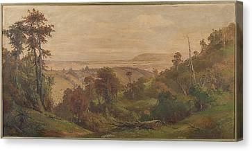 Dunedin From Pine Hill Canvas Print by George Carrington