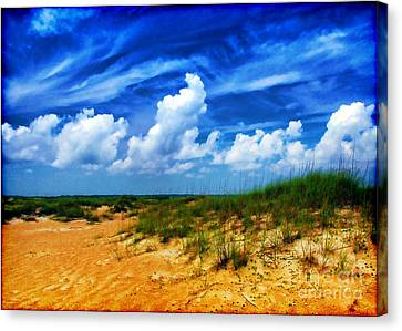 Dunes At Bald Head Island Canvas Print