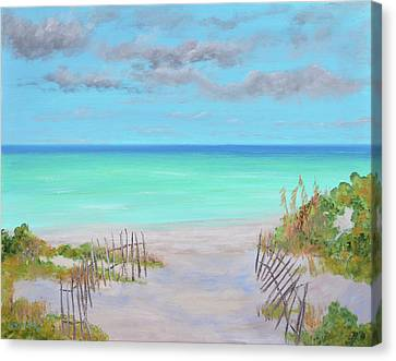 Dunes Beach Canvas Print