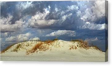Dunes Day  Canvas Print