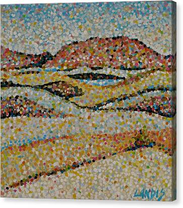 Dunes Canvas Print by Denise Landis
