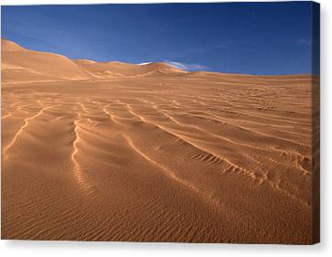 Canvas Print featuring the photograph Dunes Reward.. by Al Swasey