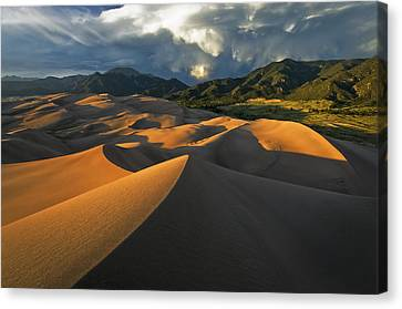 Dunescape Monsoon Canvas Print by Joseph Rossbach