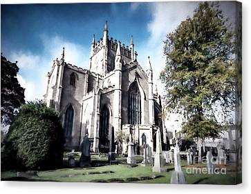 Canvas Print featuring the photograph Dunfermline by Anthony Baatz