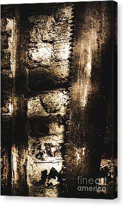 Industrial Concept Canvas Print - Dungeon Saw  by Jorgo Photography - Wall Art Gallery