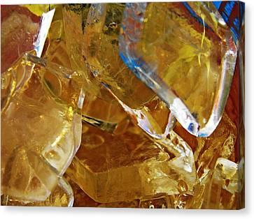 Dunkin Ice Coffee 8 Canvas Print by Sarah Loft