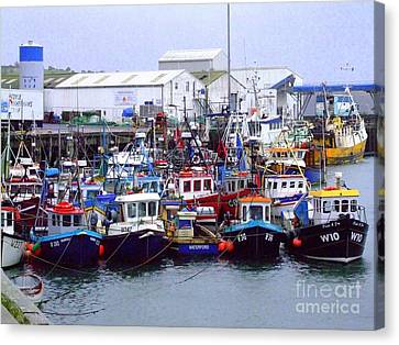Dunmore East Canvas Print