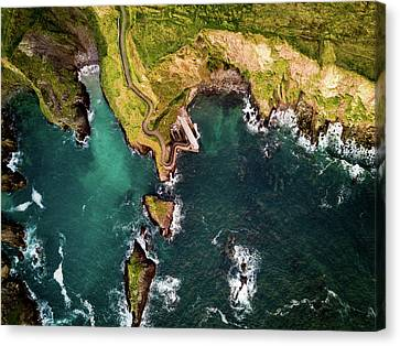 Dunquin Pier Canvas Print by Florian Walsh