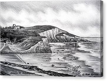 Dunraven Bay Canvas Print by Andrew Read