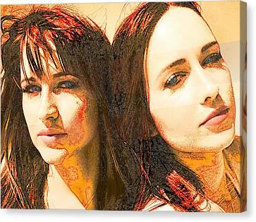 Duo Canvas Print